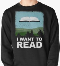 I Want to Read Pullover