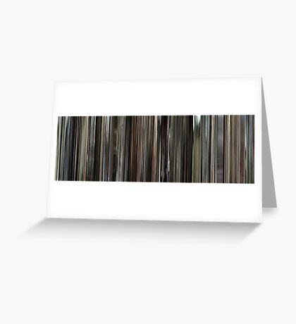 Moviebarcode: Cave of Forgotten Dreams (2010) Greeting Card