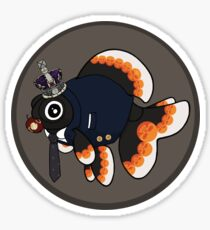 Goldfish Moriarty Sticker