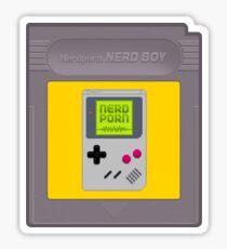 NERD BOY CARTRIDGE Sticker