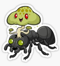 Cordyceps Ant Sticker