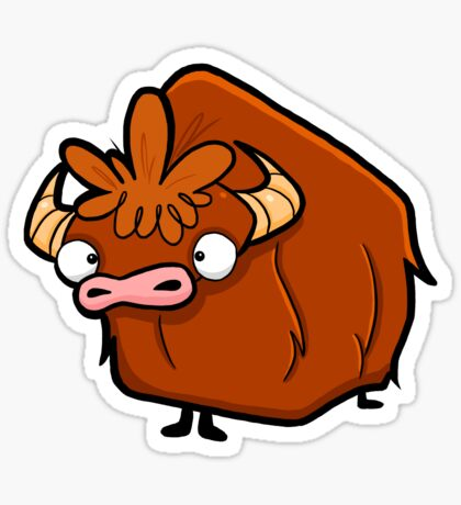 Creepies - Yak Sticker