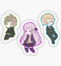 Dangan Ronpa Naegi, Kirigiri, Togami Sticker
