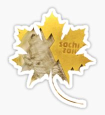 Sochi Gold Sticker