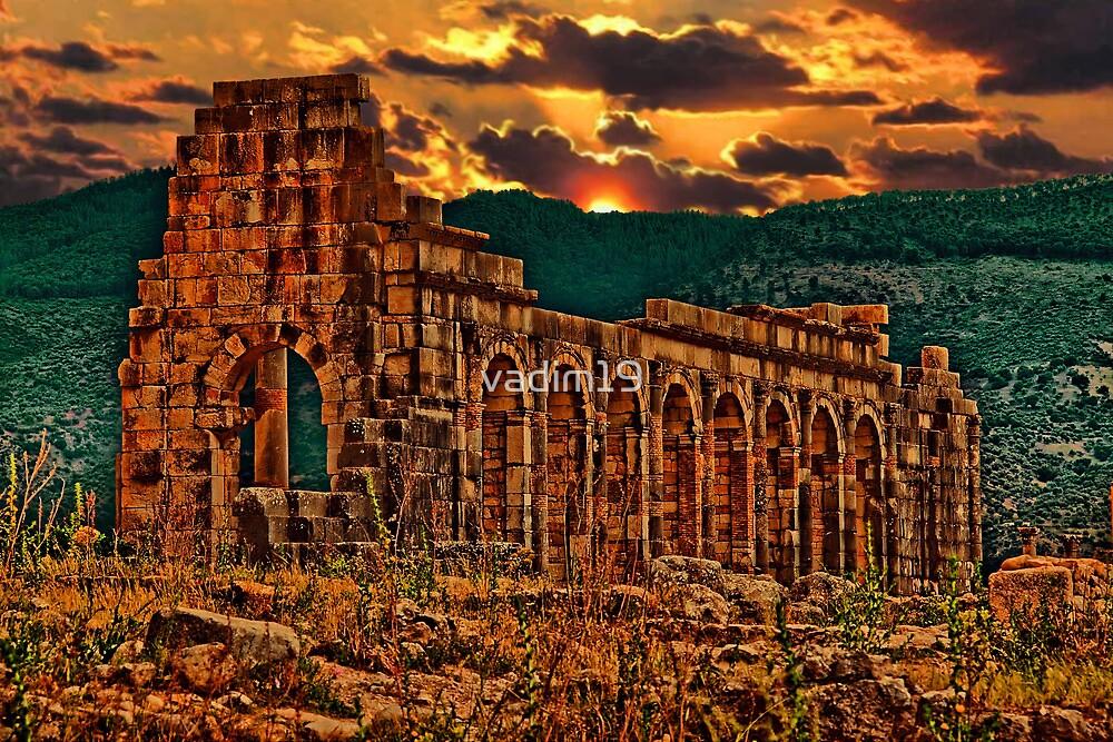 Morocco. Volubilis. Basilica. by vadim19