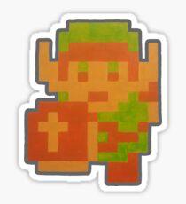 Legendary Hero w/Shield (NES) Sticker