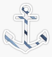Striped Anchor Sticker