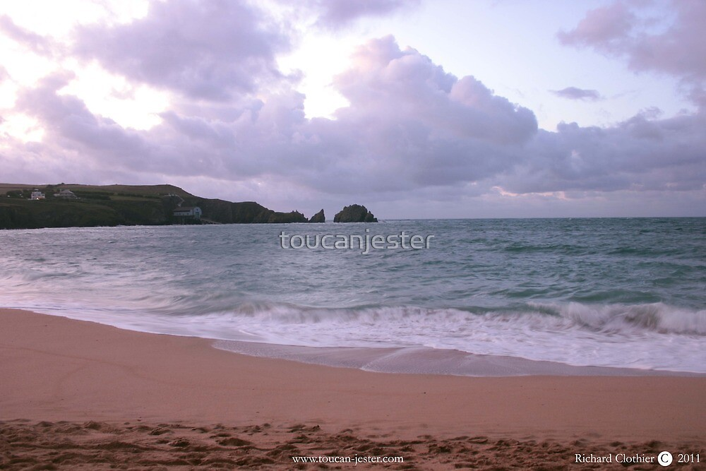 Mother Ivey's Bay, Cornwall by toucanjester