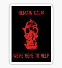 Remain Calm Sticker