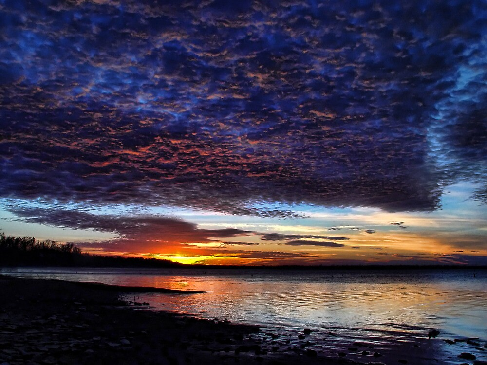 Sunset Clouds by Carolyn  Fletcher