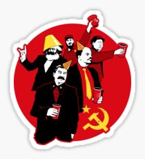 The Communist Party Sticker Sticker