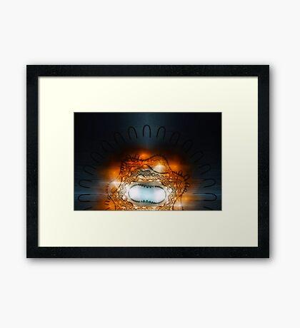 Timewinds Framed Print
