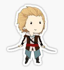 Pirate Assassin Chibi Sticker