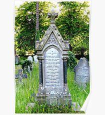 Family Memorial at St Anns cemetry Poster