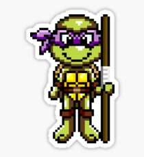 TMNT Donatello Pixel Sticker