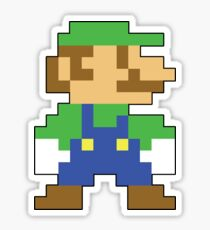 Super Mario 3D World Luigi Sprite Sticker