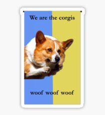 House Corgi Sticker