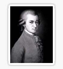 Wolfgang Amadeus Mozart | The Wighte Collection Sticker