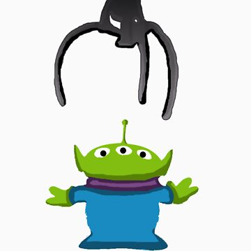 Toy Story Alien Claw by Morware