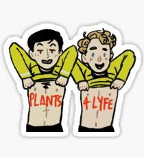 plants 4 lyfe Sticker