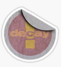 Grunge   decay Sticker
