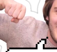 BROFIST! Sticker