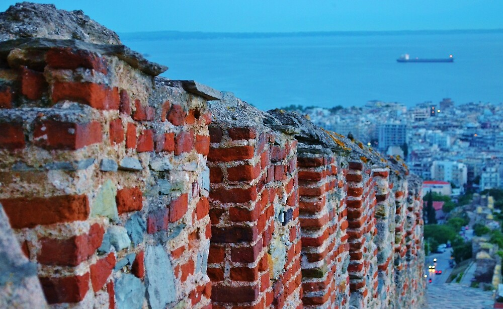 View from the castles of Thessaloniki by AxelAtticus