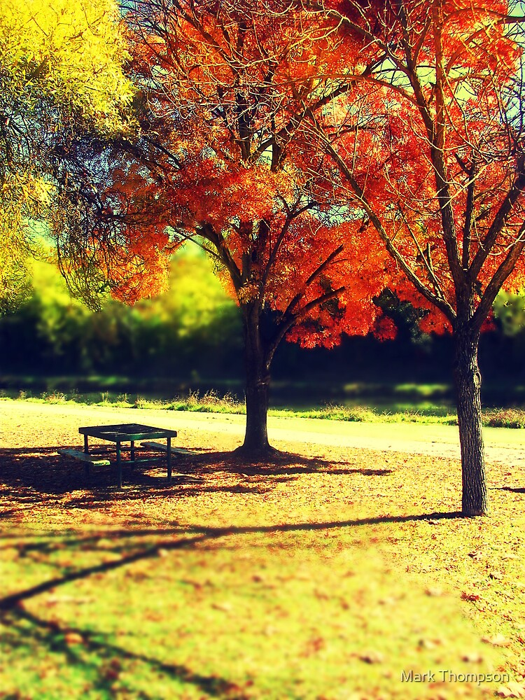 Autumn lunch by mark thompson