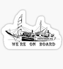 On Board Sticker Sticker