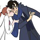 Sherlolly Kiss by EccentricArtist