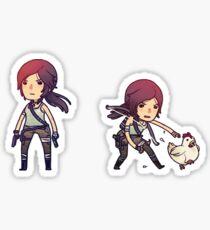 Tiny Tomb Raider A Sticker