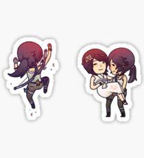 Tiny Tomb Raider B Sticker