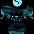 My Nighttime Friends (sticker) by RebelArts