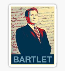 Bartlet Hope Sticker
