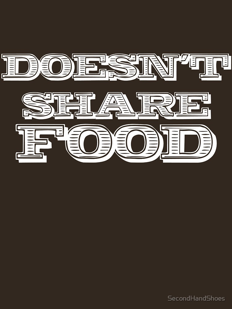 Joey Doesn't Share FOOD!!1 by SecondHandShoes