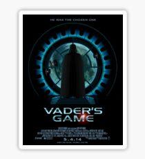 Vader's Game (sticker) Sticker