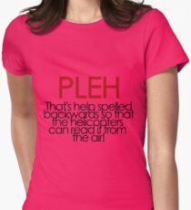 PLEH Women's Fitted T-Shirt