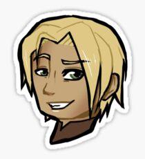 Chibi Jaime Lannister - Transparent BG Sticker Sticker