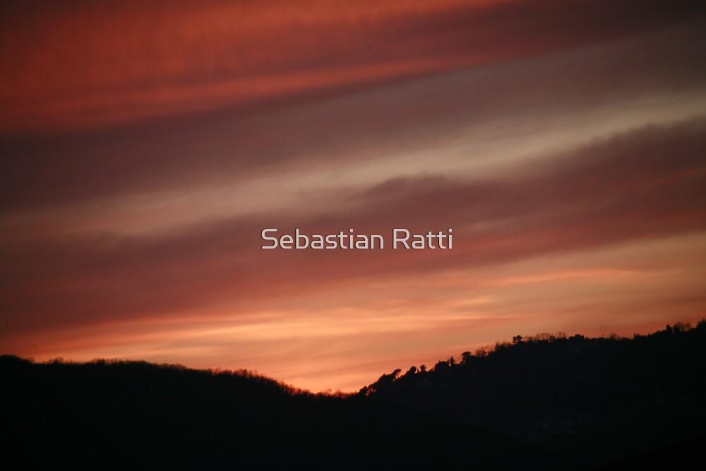 Un tramonto... by Sebastian Ratti