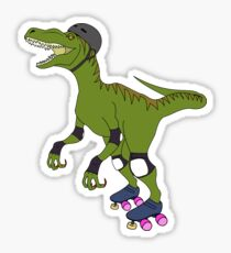 Derby Raptor Sticker