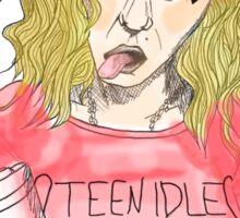 Teen Idle Sticker