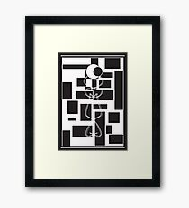 Cosmic person Framed Print