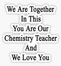 i love you in chemistry