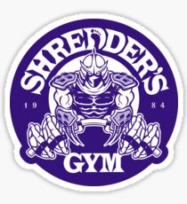 Shredder's Gym (Decal) Sticker