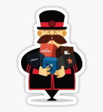 The Official Yeoman Sticker (Generator Edition) Sticker