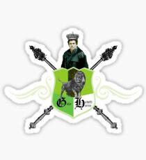 King Hawthorne Sticker