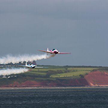 SWIP Display Team Dawlish Airshow by thorney102