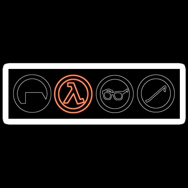 Half-Life symbols by alieneye