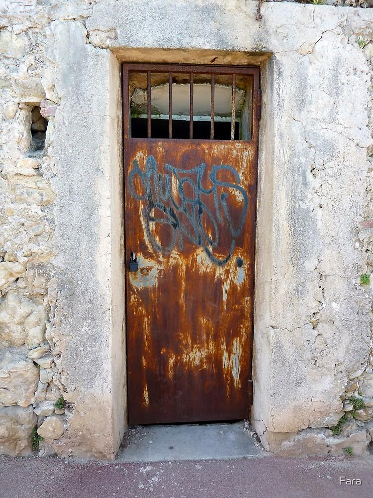 Graffiti On Cap Ferrat by Fara