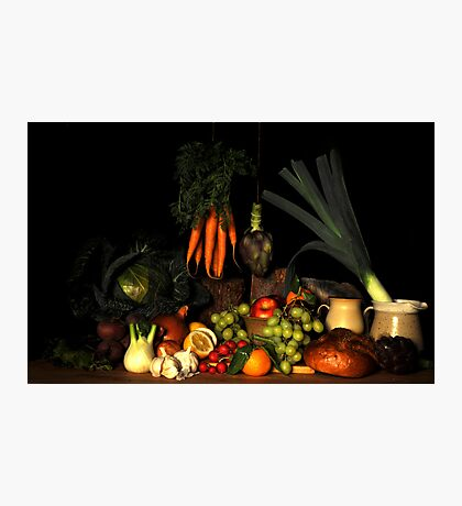 Bodegon still life  Photographic Print